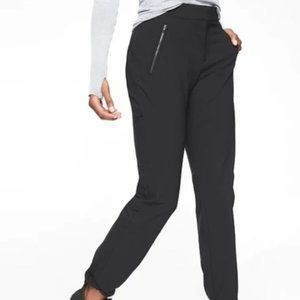Athleta Wander Straight Pants size 10P Black